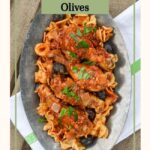 slow cooker chicken-artichokes-olives