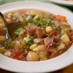 Delicious Vegetable Ham Bone Soup