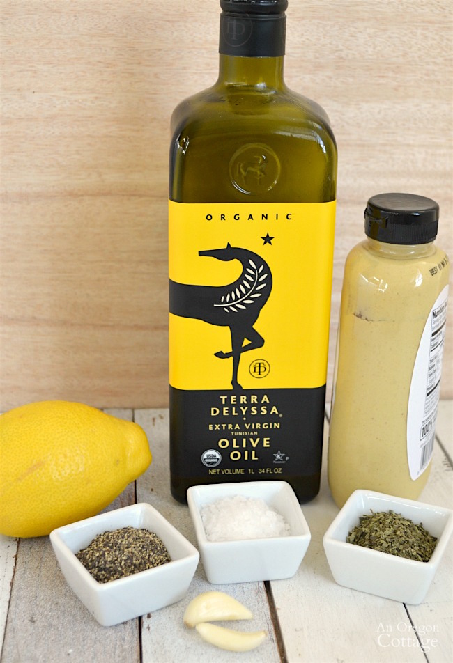 Lemon-herb vinaigrette ingredients