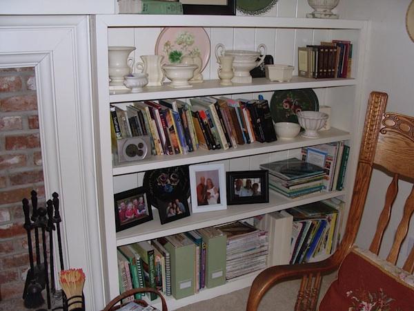 Living Room Shelf 1 Before