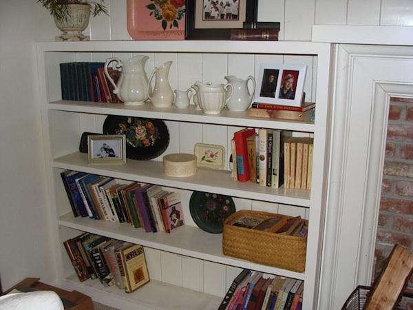 Living Room Shelf 2 Before