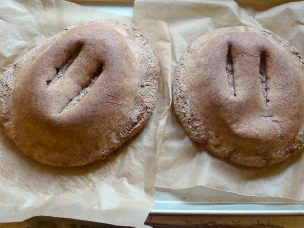 Sourdough artisan bread fail