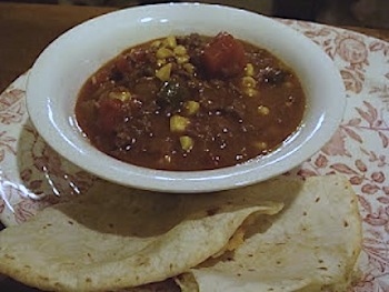 Spicy Beef, Tomato-Corn Stew