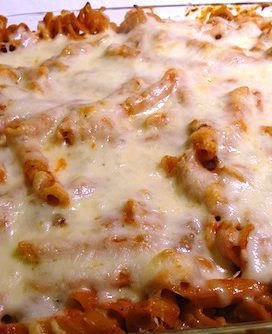 Cheesy Baked Pasta {aka Comfort Food}