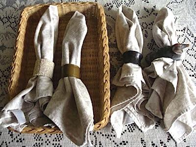 Family Cloth Napkins