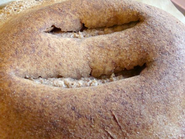 sourdough artisan bread fail detail
