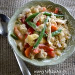 Easy Thai Inspired Chicken Vegetable Curry Using Cooked Chicken - An Oregon Cottage