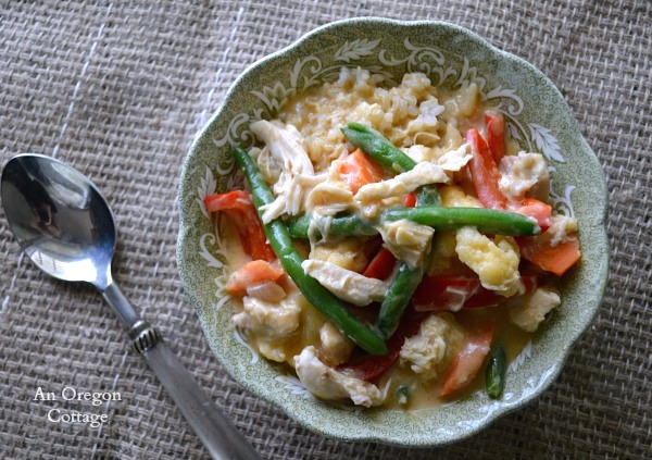 Easy Vegetable and Chicken Curry - An Oregon Cottage
