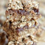 Whole Grain Apple Butter Bars are so easy and so delicious, they make a perfect healthy snack.