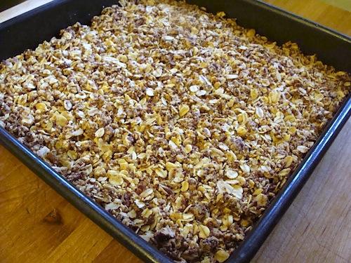 Whole-Grain Apple Butter Cake Recipe — Dishmaps