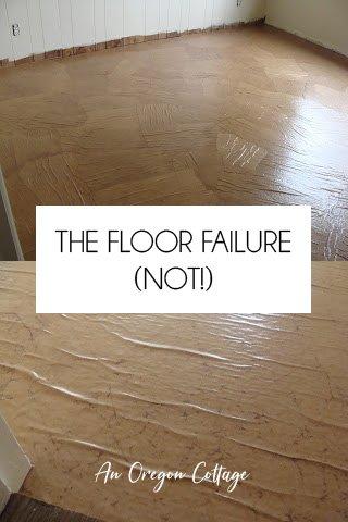 The floor failure (not!)