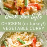 quick Thai chicken vegetable curry