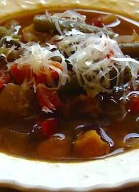 Italian Vegetable Beef Soup