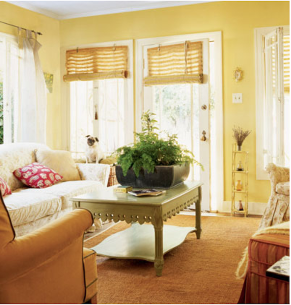 Cottage Living-living room from magazine