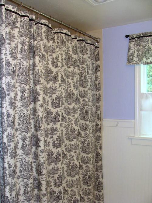 Main Bath Remodel - Shower Curtain_An Oregon Cottage