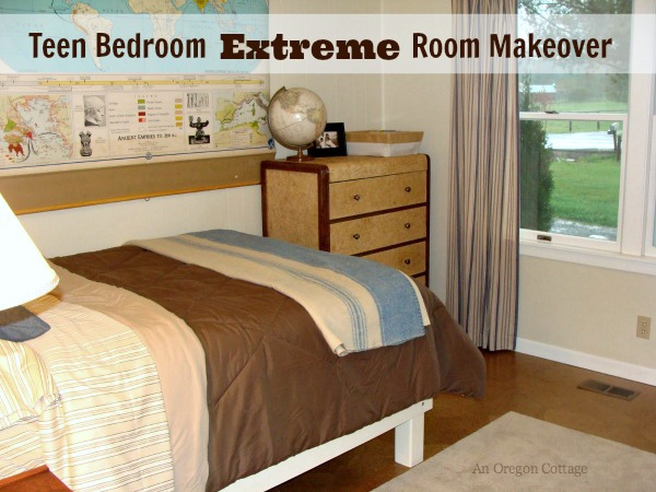 Teen Bedroom Extreme Room Makeover - An Oregon Cottage