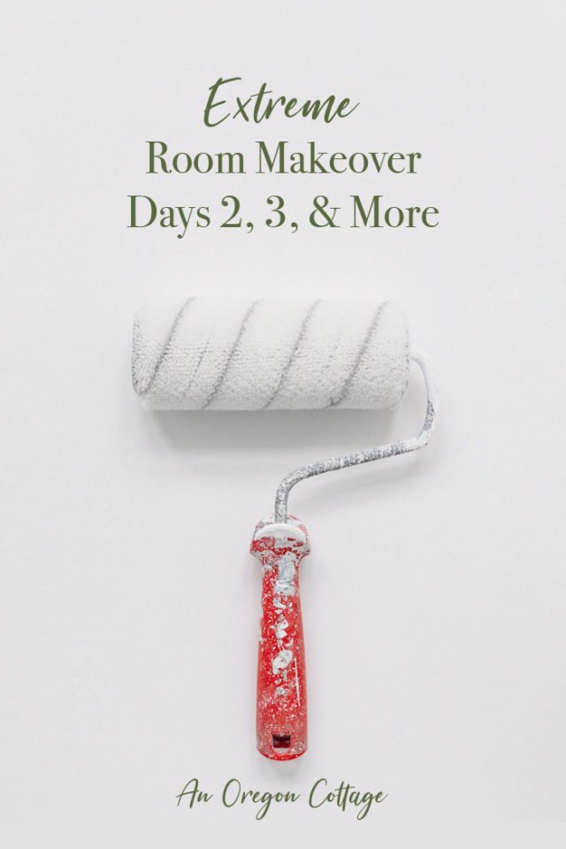 Extreme room makeover: days 2, 3, and more