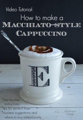 Video: How To Make Macchiato-Style Cappuccinos