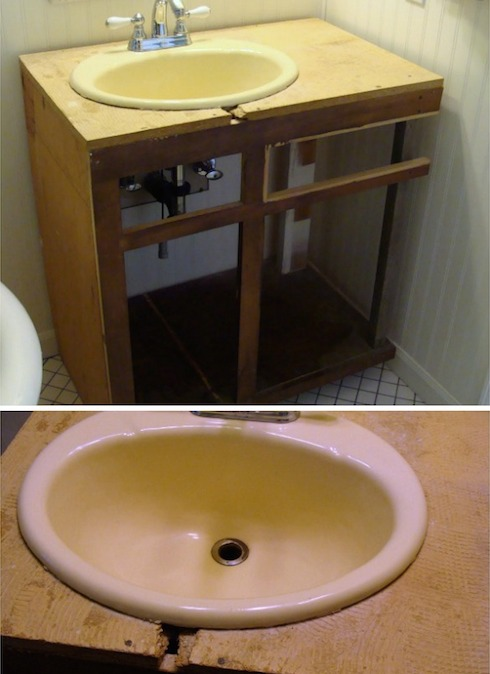 Temporary Vanity2 - An Oregon Cottage