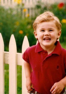 An Oregon Cottage's Adorable Preschool Son