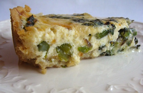 Asparagus Quiche - An Oregon Cottage