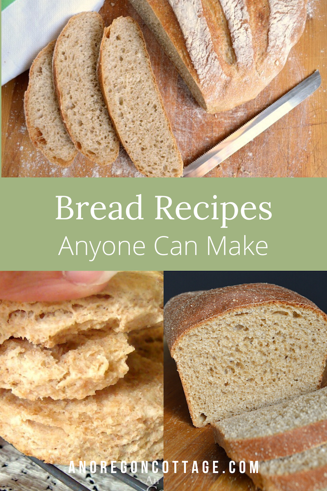 bread recipes anyone can make