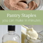 pantry staples to make in minutes