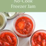 simple no-cook freezer jam