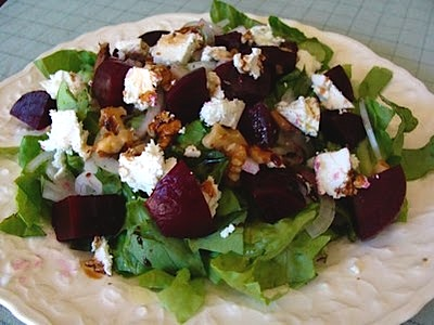 Roasted-Beet-Goat-Cheese-Salad