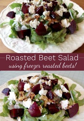 Roasted Beet Salad pin image