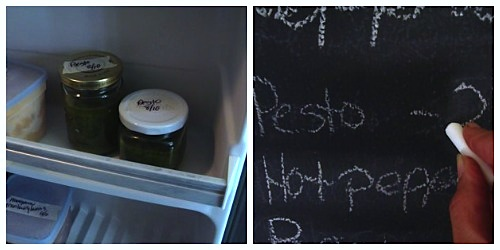 freezing pesto