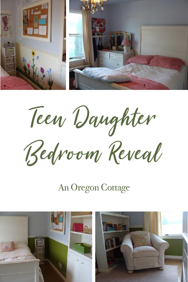 Teen daughter bedroom reveal
