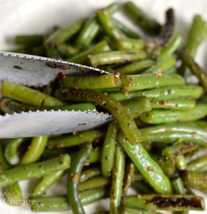 Garlic Green Beans-a perfect side dish