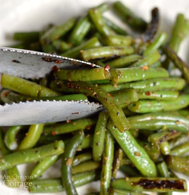 Garlic Green Beans-a perfect side dish
