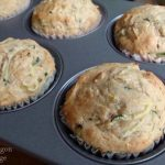 Zucchini Cinnamon Muffins from frozen dough