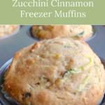 convenient zucchini freezer muffins