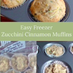 easy freezer zucchini muffins