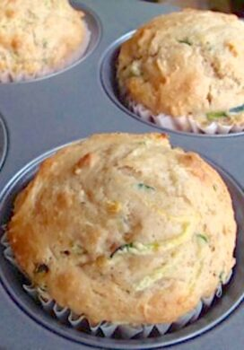 zucchini freezer muffin_featured