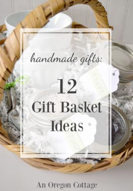 12 gift basket ideas for Christmas, hostess, and birthday gifts - all around $10