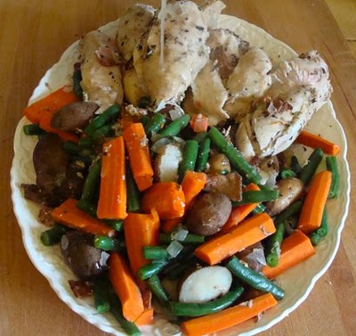 Slow Cooked Chicken Dinner