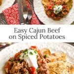 easy-Cajun-beef-on-spice-potatoes