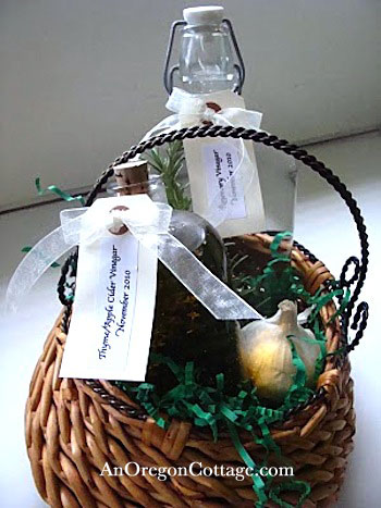herbed-vinegars-basket