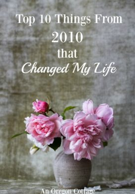 10 Things in 2010 that Changed My Life