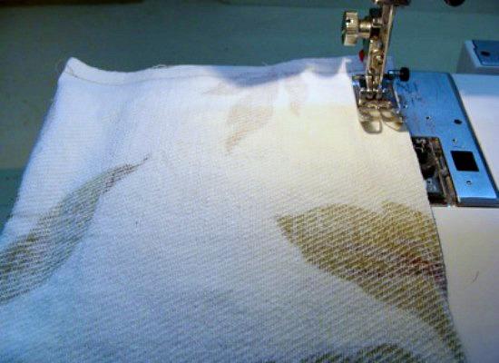 DIY Flaxseed Pillow Warmers-sewing seams