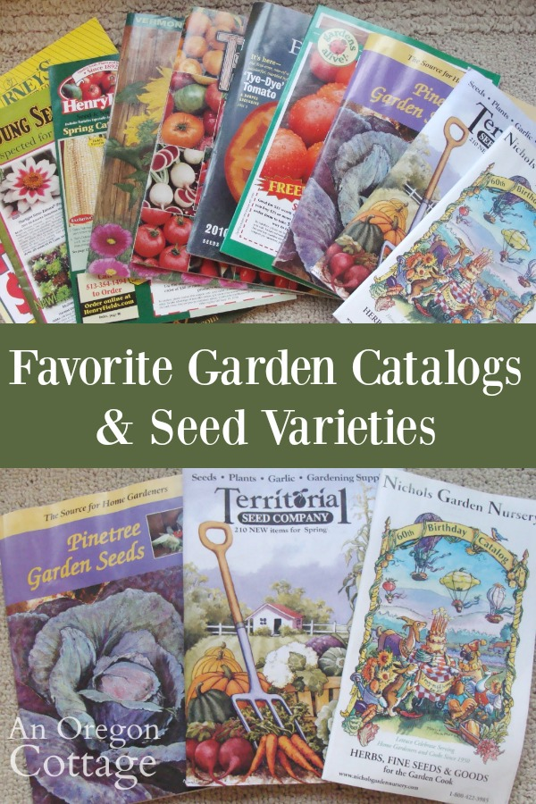 Favorite garden catalogs