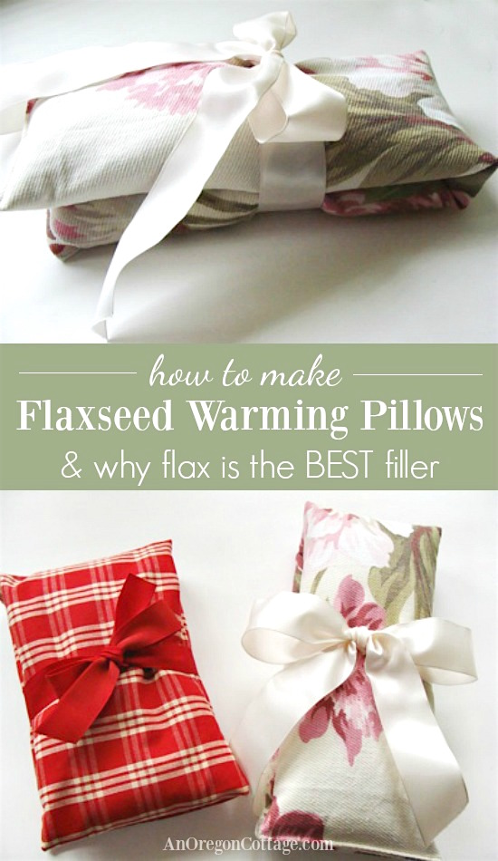c2893c7b4e1e How to make warming flaxseed pillows and why whole flax seeds are the BEST  filler for