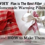 How to make flax seed pillows