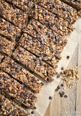 Ultimate No-Bake Chewy Granola Bars