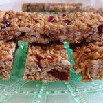 no-bake granola bar
