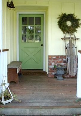 Three steps to a Spruced Up Entry for spring